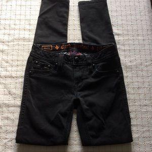 Rock Revival Black Manisa Skinny Jeans, 27